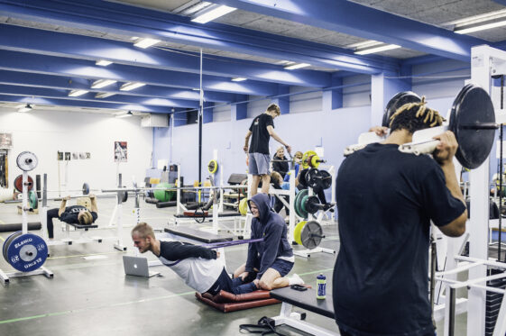 Sten Kaj Larsen, sportsakademiet. Foto: Andreas Bastiansen